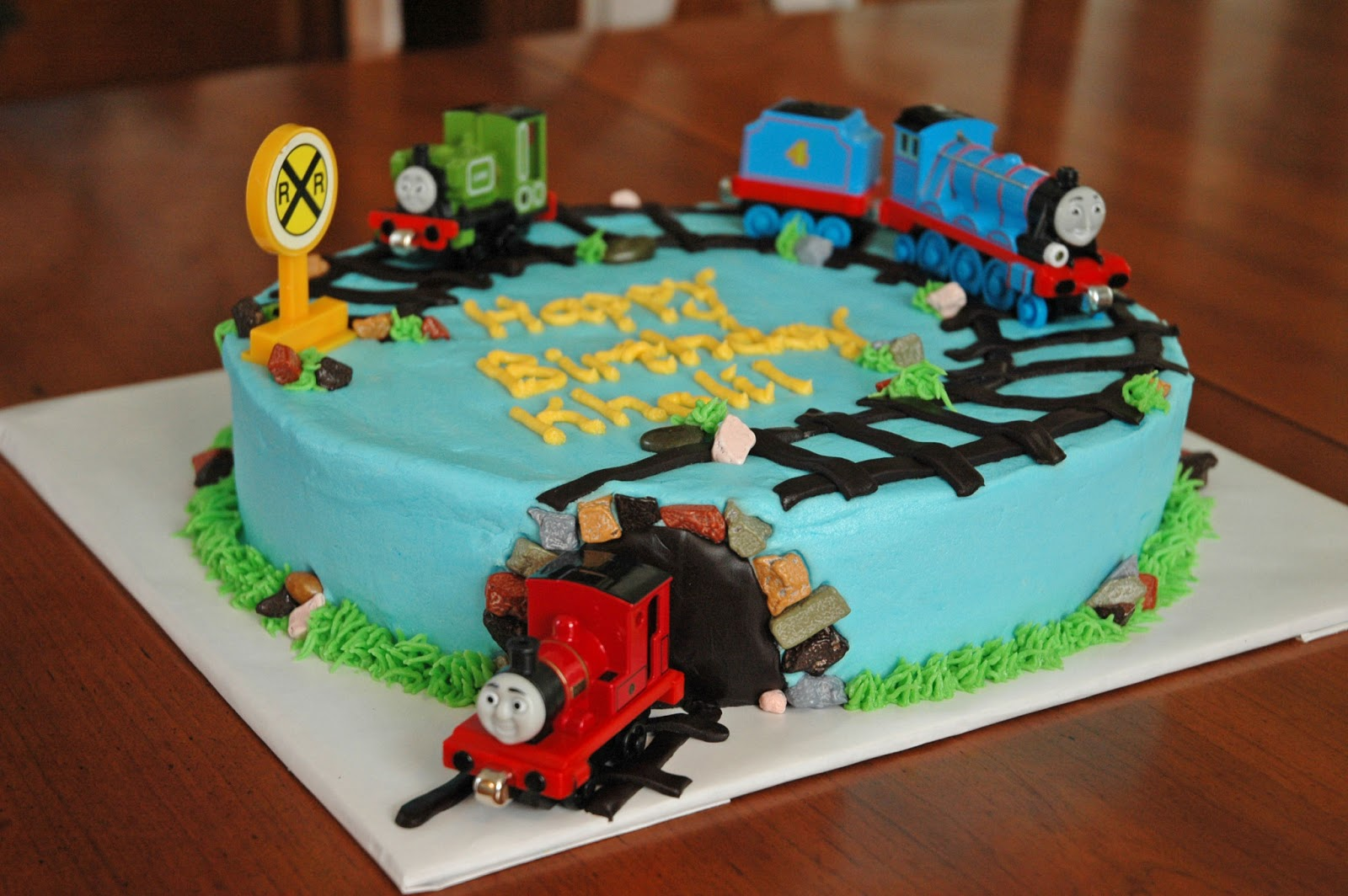 Images Of Train Birthday Cakes : Thomas The Train Cakes   Decoration Ideas Little ...