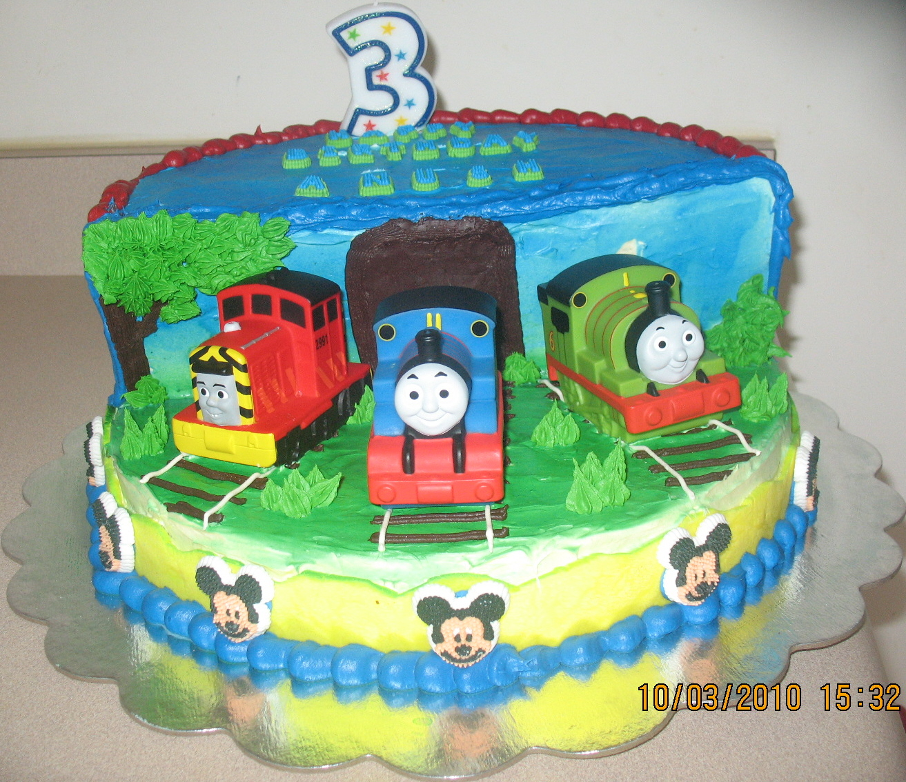 Thomas The Train Birthday Cake Decorations