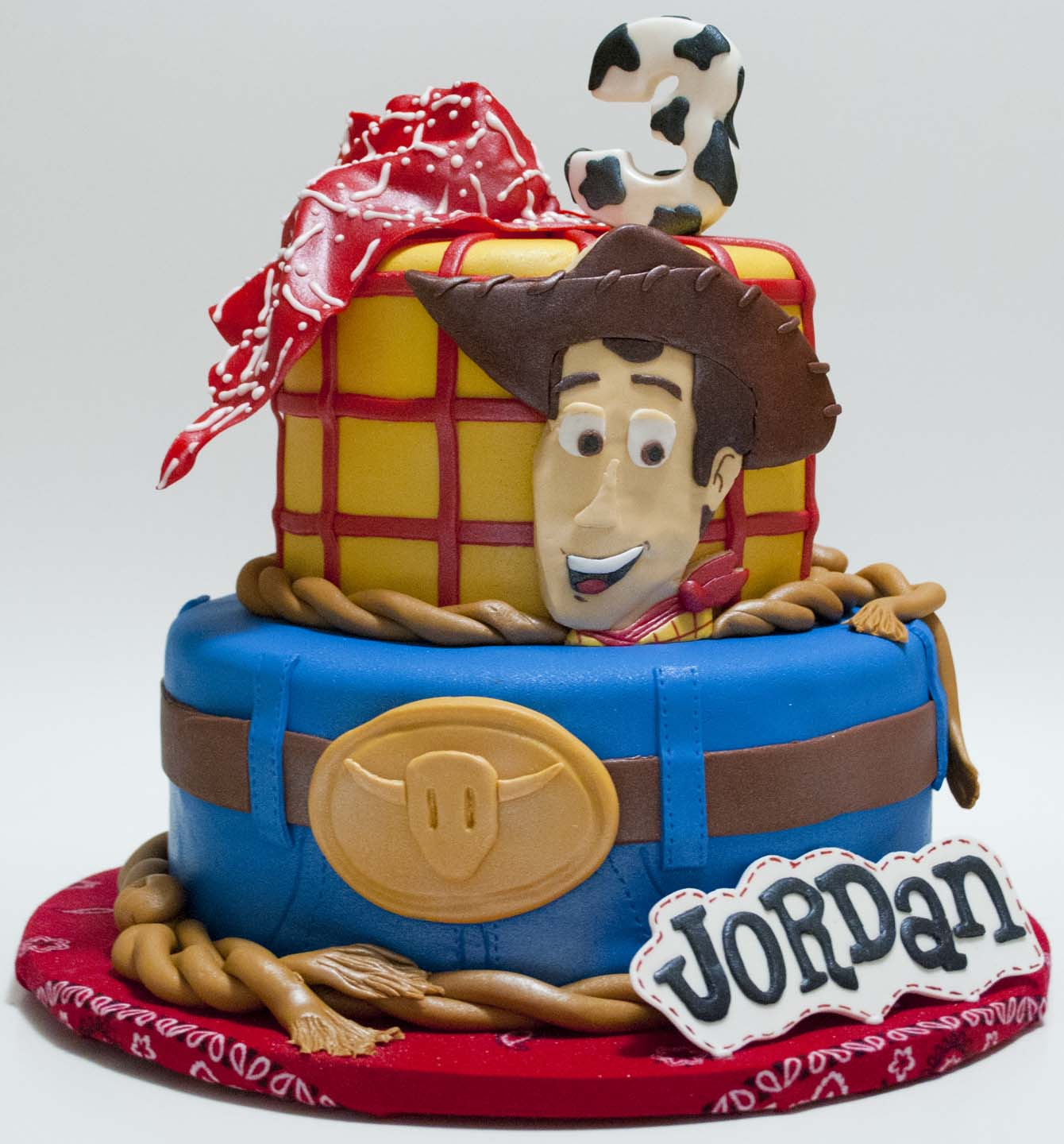 Disney Jessie Birthday Cakes