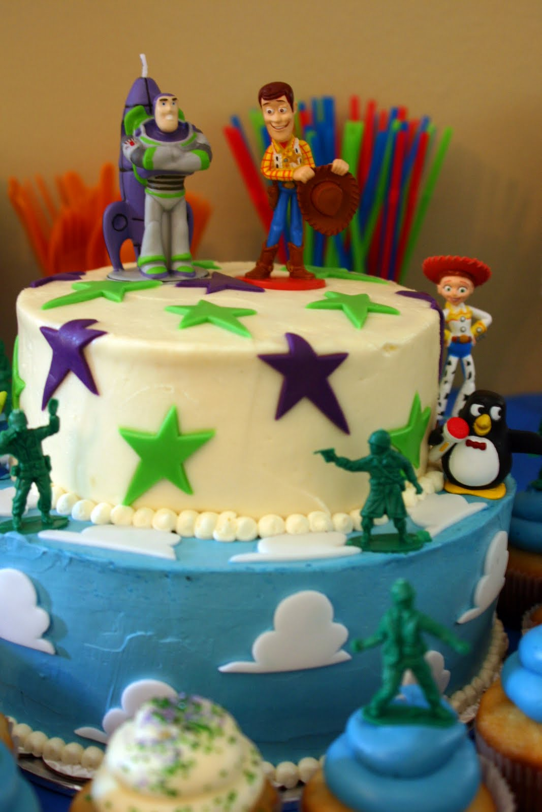 Toy Story Party Ideas Decorations : Toy story cakes decoration ideas little birthday