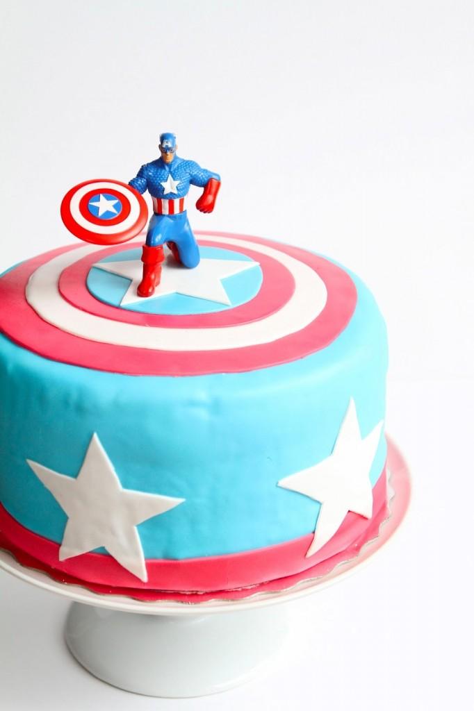 Captain America Cakes