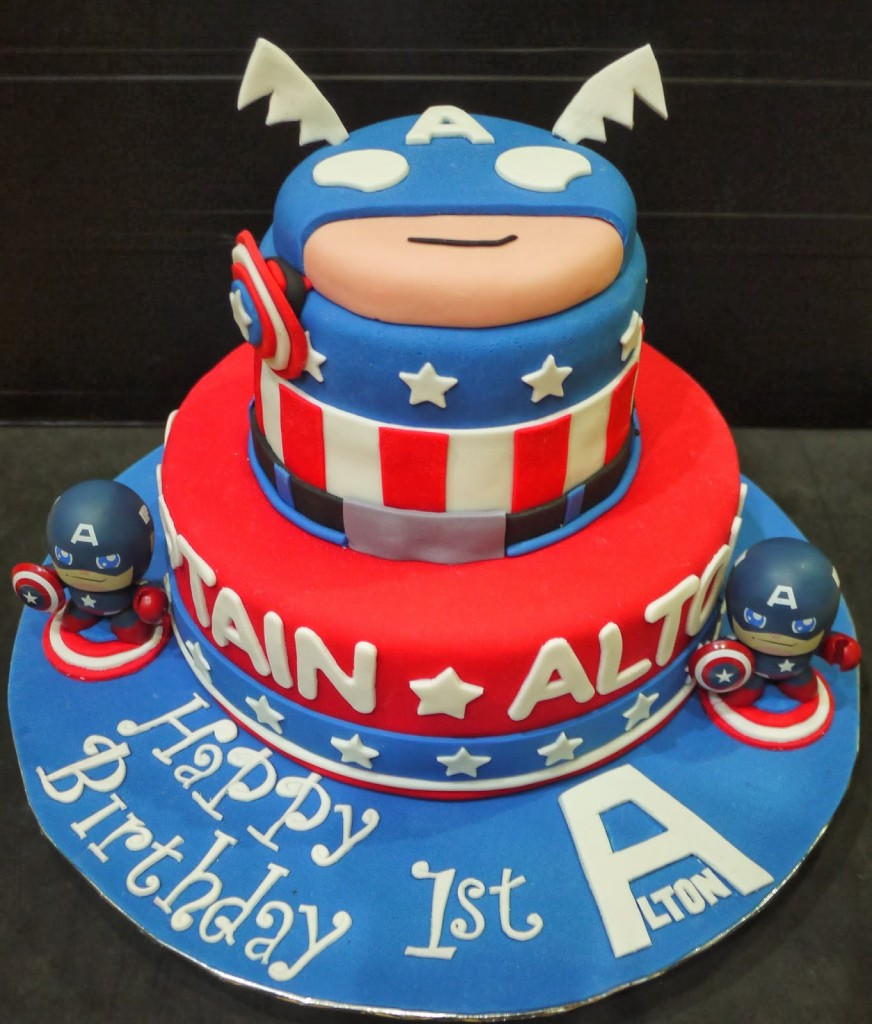 Captain America Cakes Images