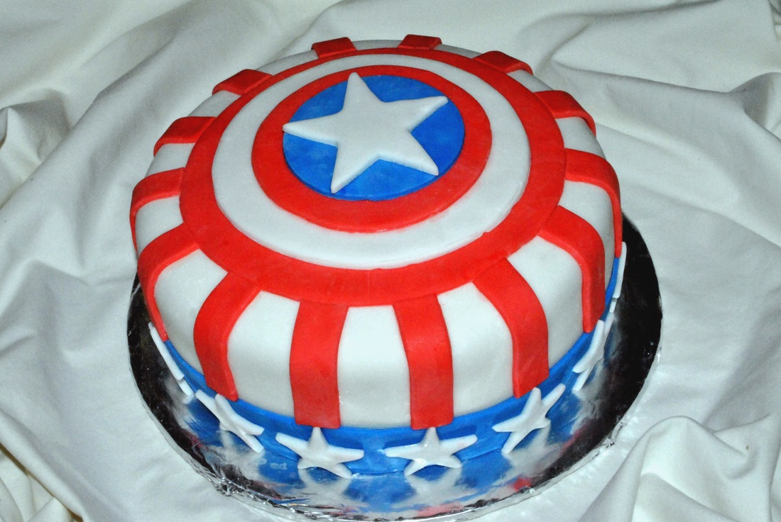 Captain America Cakes Decoration Ideas Little Birthday Cakes
