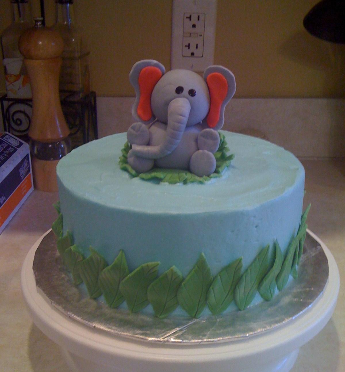 Images Cake Elephant : Elephant Cakes   Decoration Ideas Little Birthday Cakes