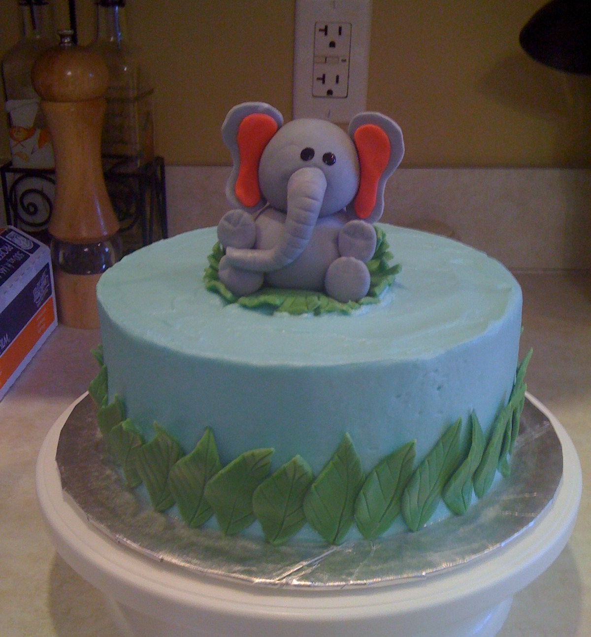 Birthday Cake Decorations For Seniors : Elephant Cakes   Decoration Ideas Little Birthday Cakes
