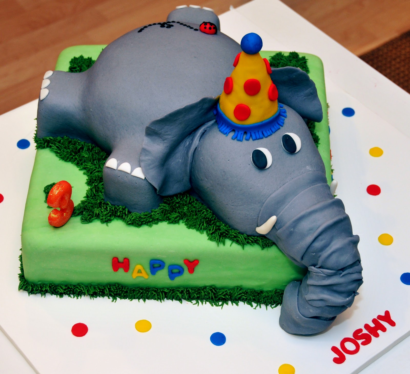 Cake Photos Of Birthday : Elephant Cakes   Decoration Ideas Little Birthday Cakes