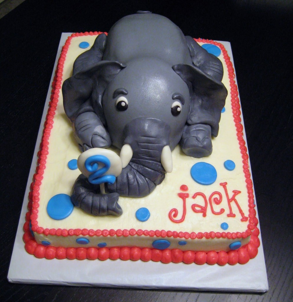 Elephant Cakes Decoration Ideas Little Birthday Cakes