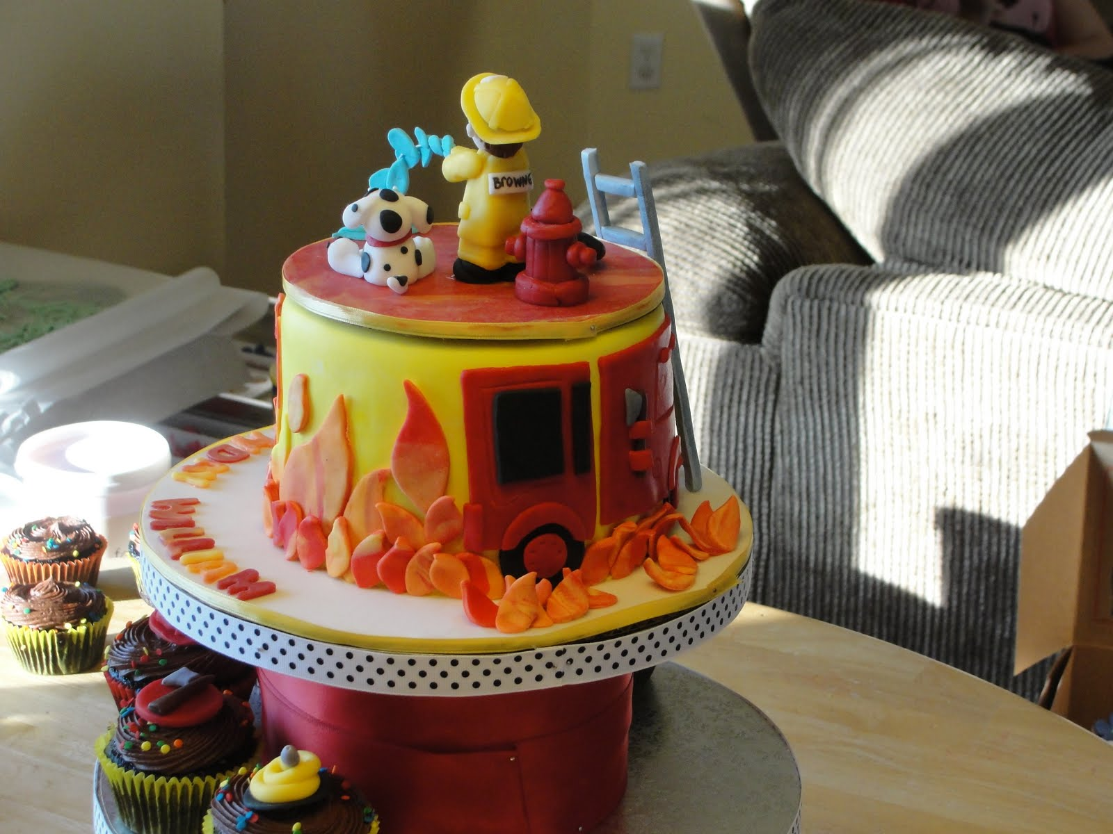 Firefighter Birthday Cakes For Adults