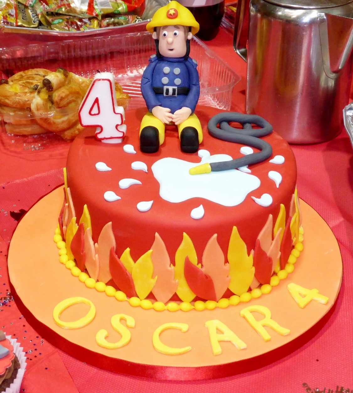 Fireman Sam Cake Decorations Tesco : Fireman Cakes   Decoration Ideas Little Birthday Cakes