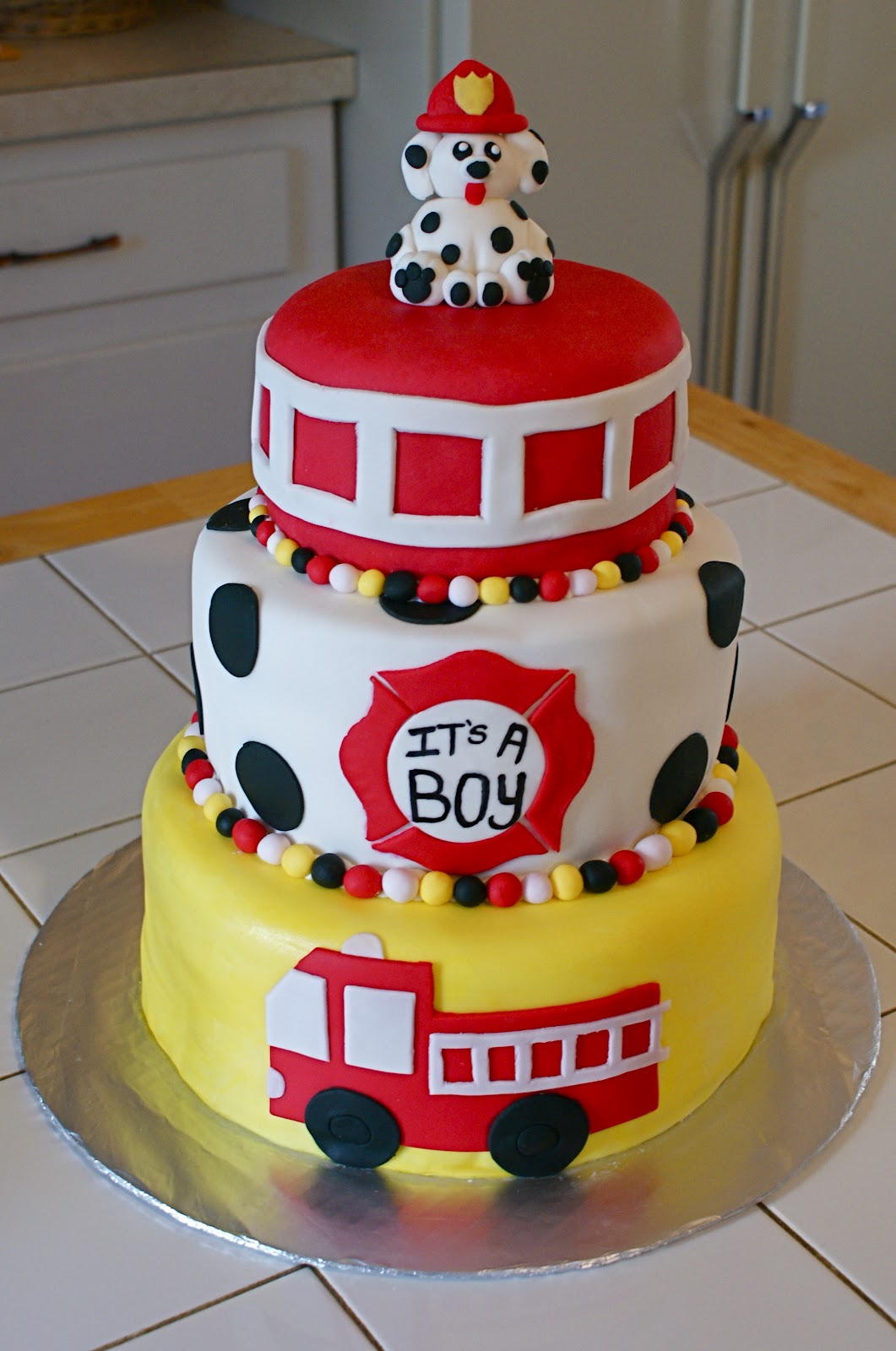 Firefighter Birthday Cake Decorations