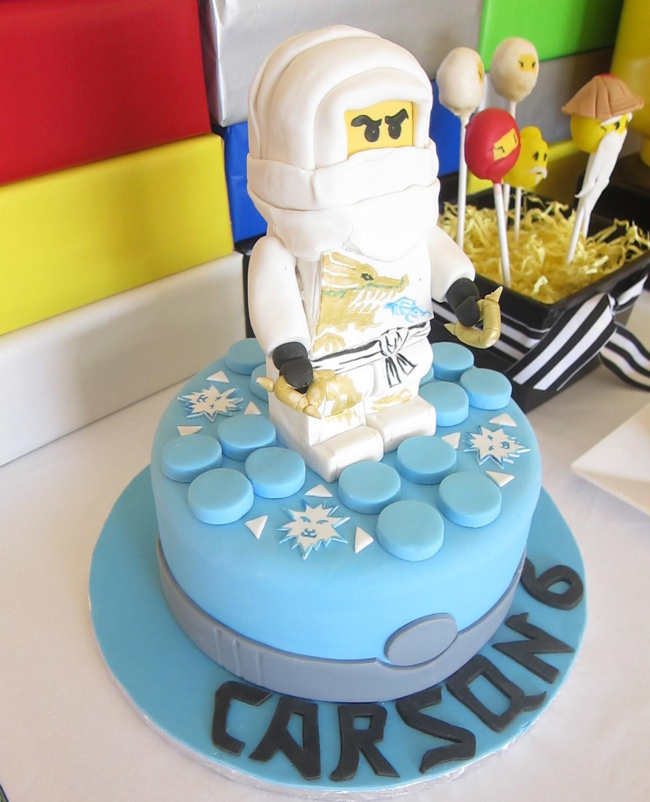 Lego Ninjago Birthday Cake Ideas