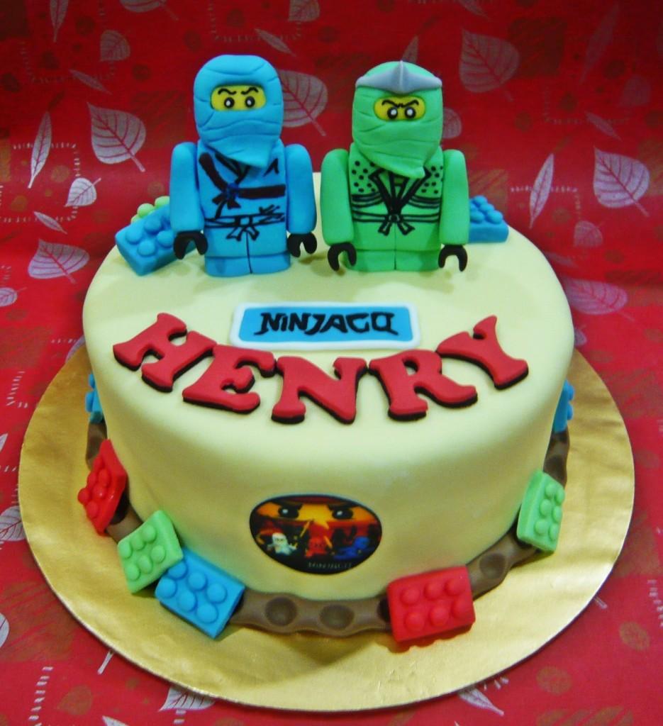 Lego Ninjago Cakes