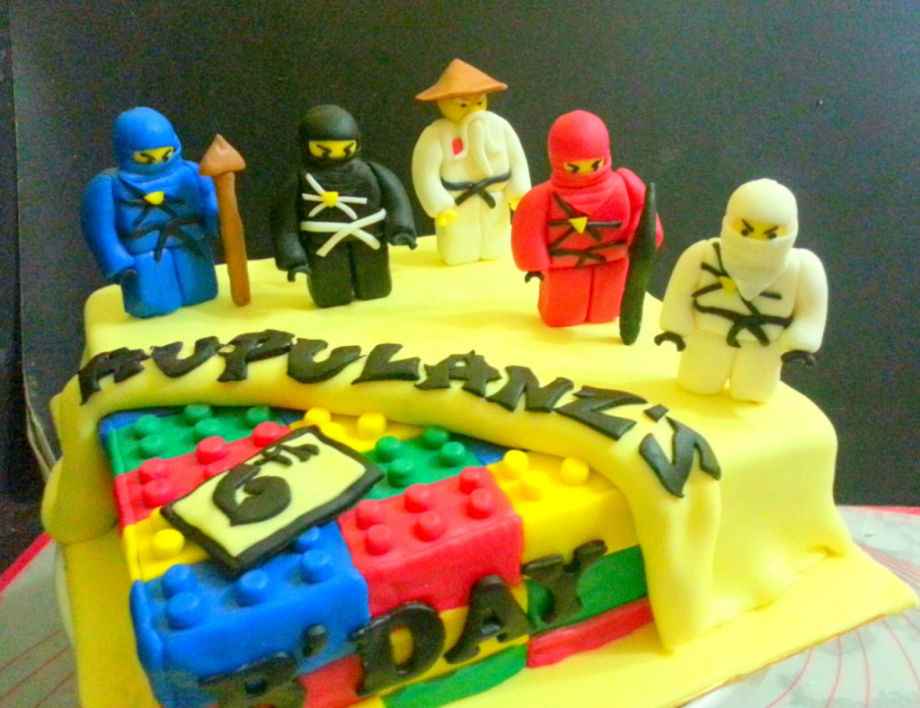 Lego Ninja Birthday Cake Ideas