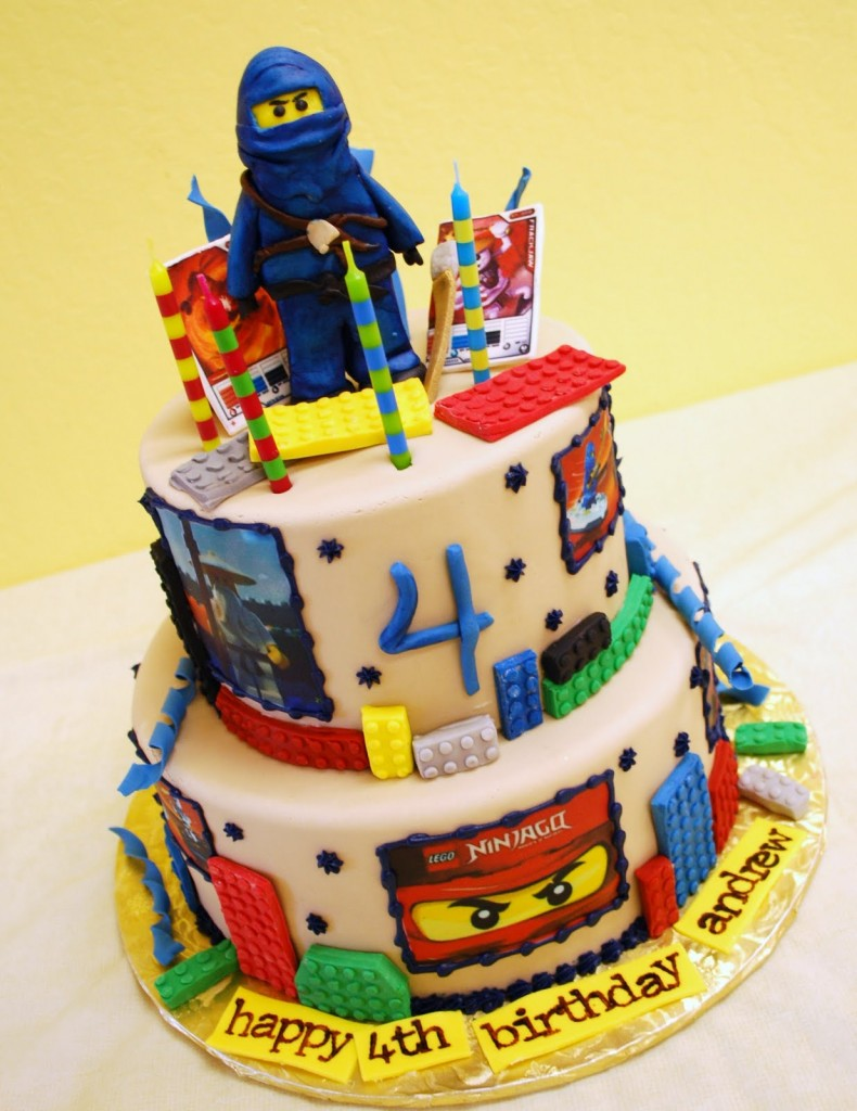Lego Cake Decorating Kit