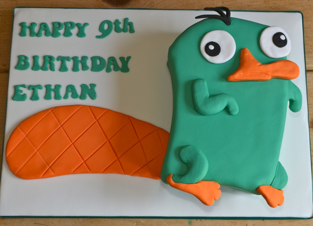 Perry The Platypus Cakes Decoration Ideas Little