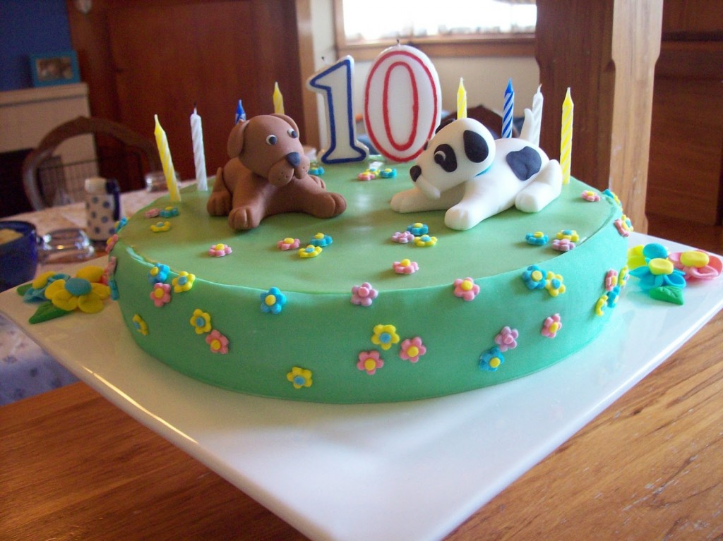 Puppy Birthday Cake Ideas