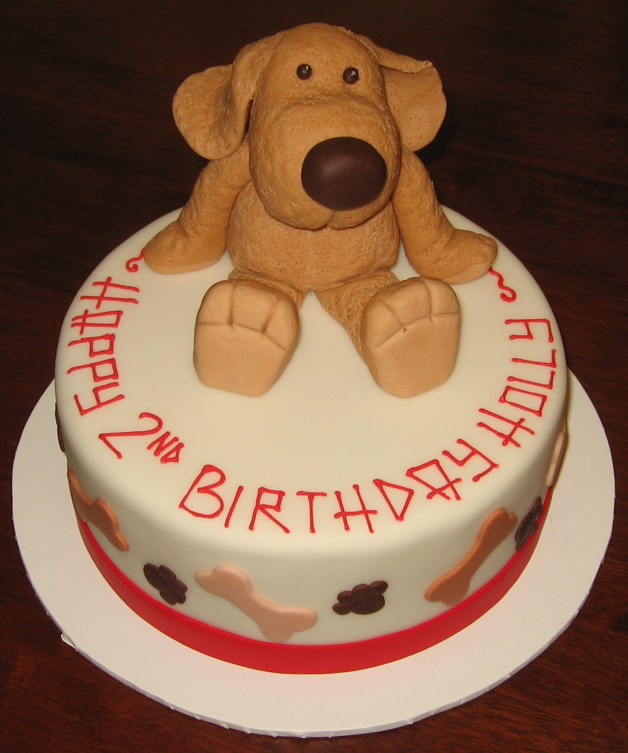 Cake Design With Dog : Puppy Cakes   Decoration Ideas Little Birthday Cakes