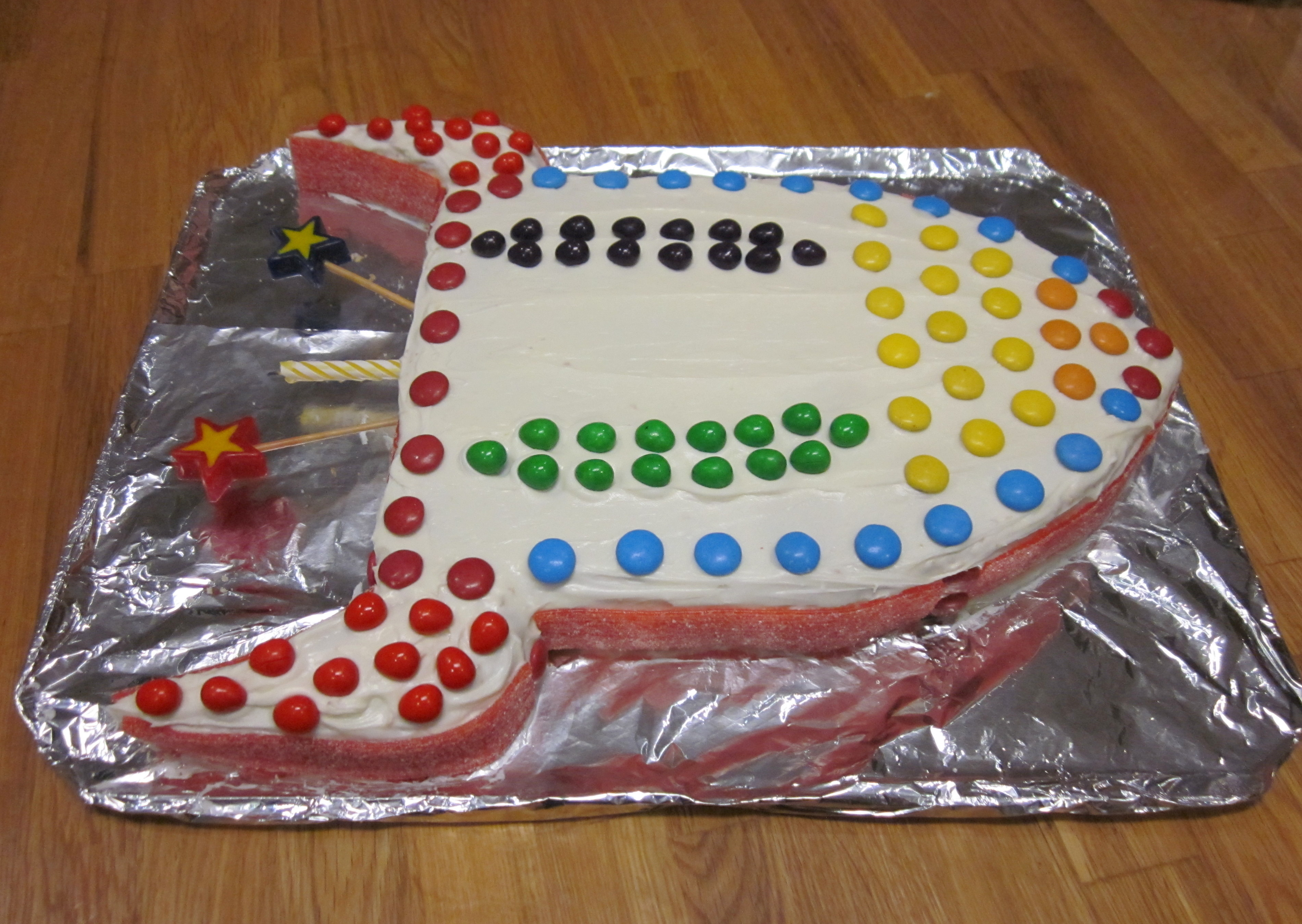How To Make Rocket Ship Cake