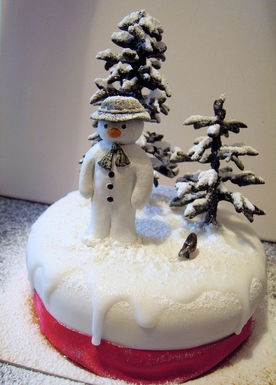 Snowman Cakes Decoration Ideas Little Birthday Cakes