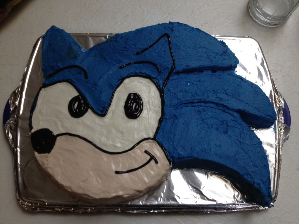 Sonic Cake Decorations