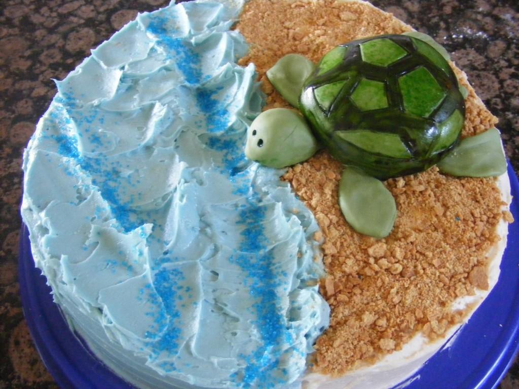Turtle Cake Designs