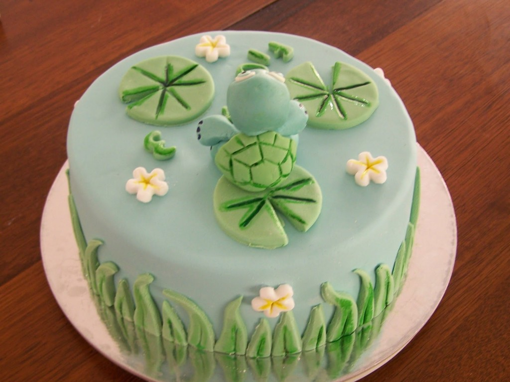 Turtle Cake Pictures