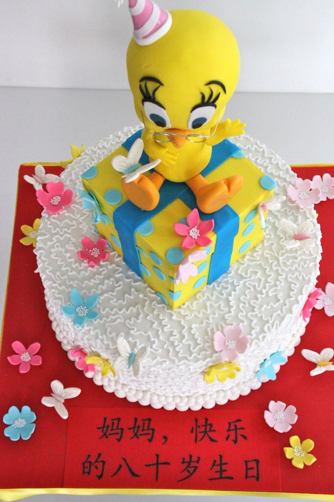 Tweety Bird Birthday Cake Decorations