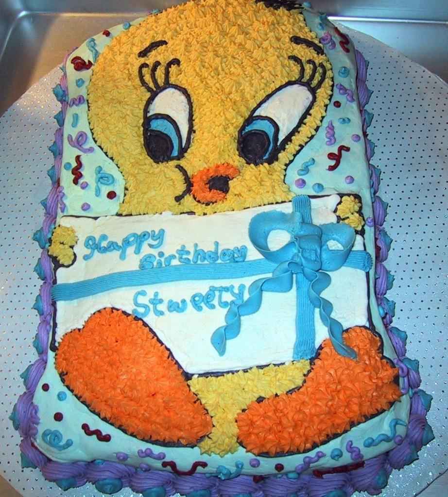 Tweety Cake Pops
