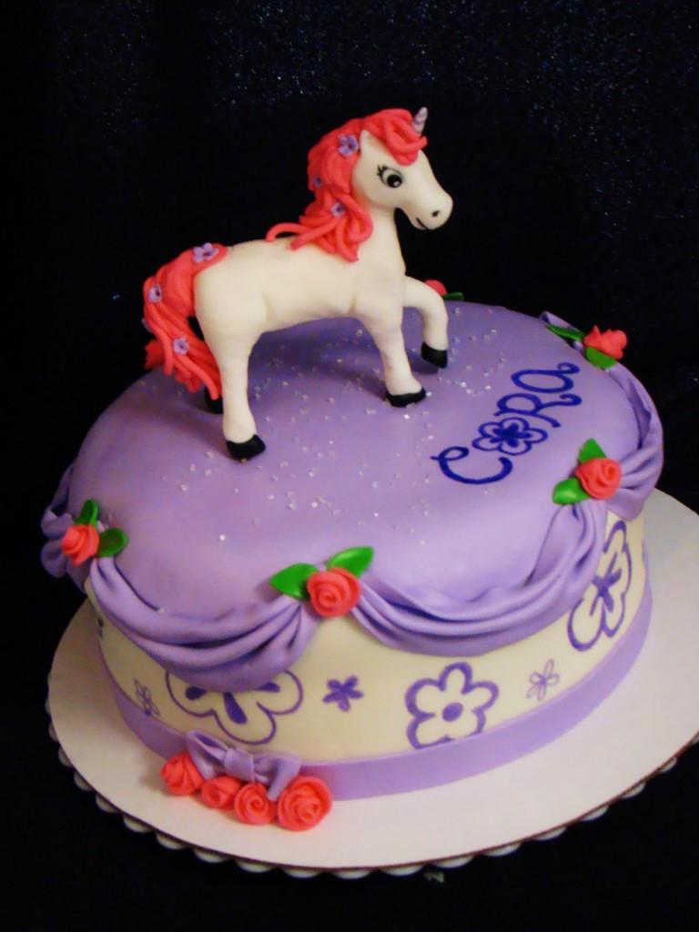 Cake Decorating Birthday Party Places : Unicorn Cakes   Decoration Ideas Little Birthday Cakes