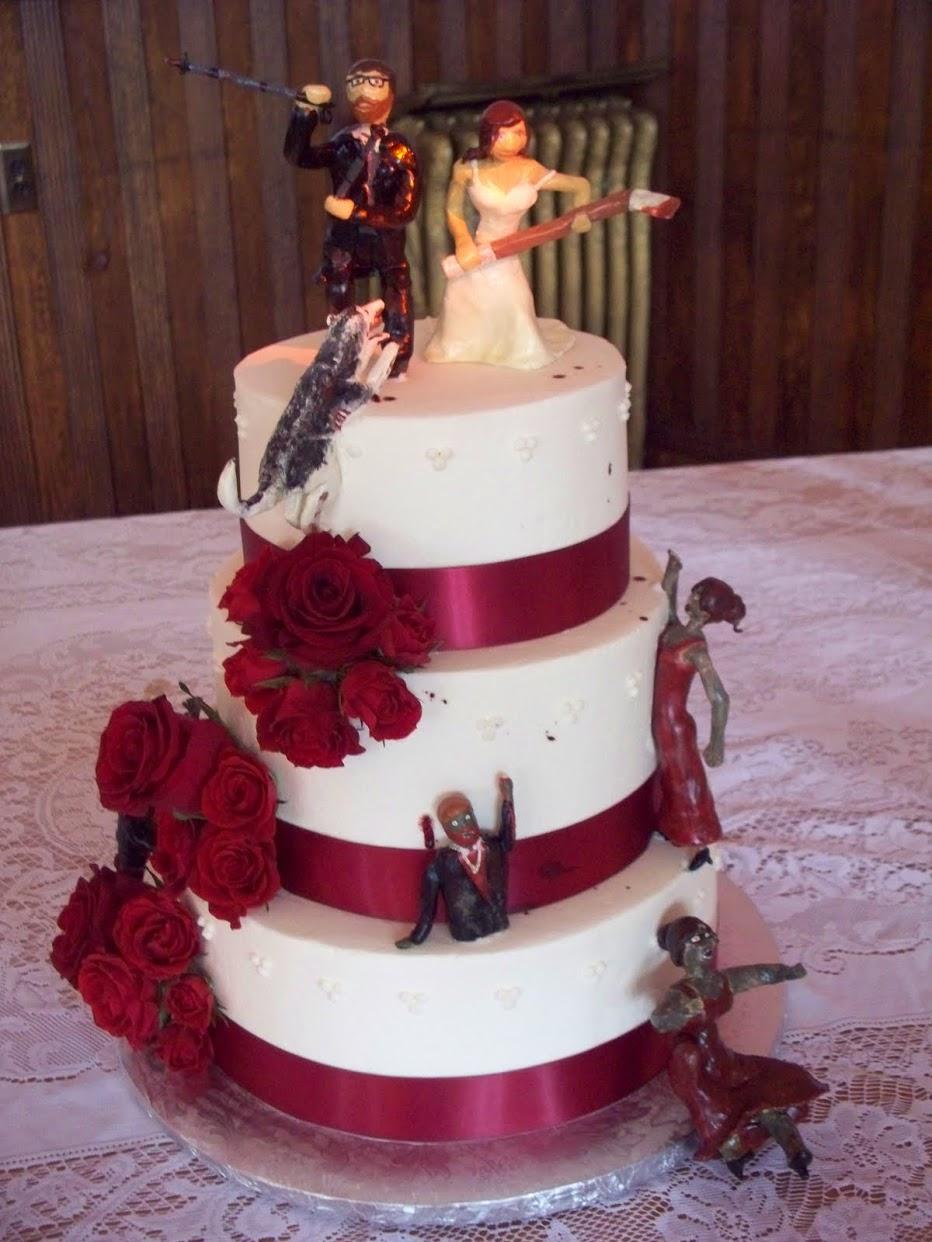 Zombie Wedding Cake Photos