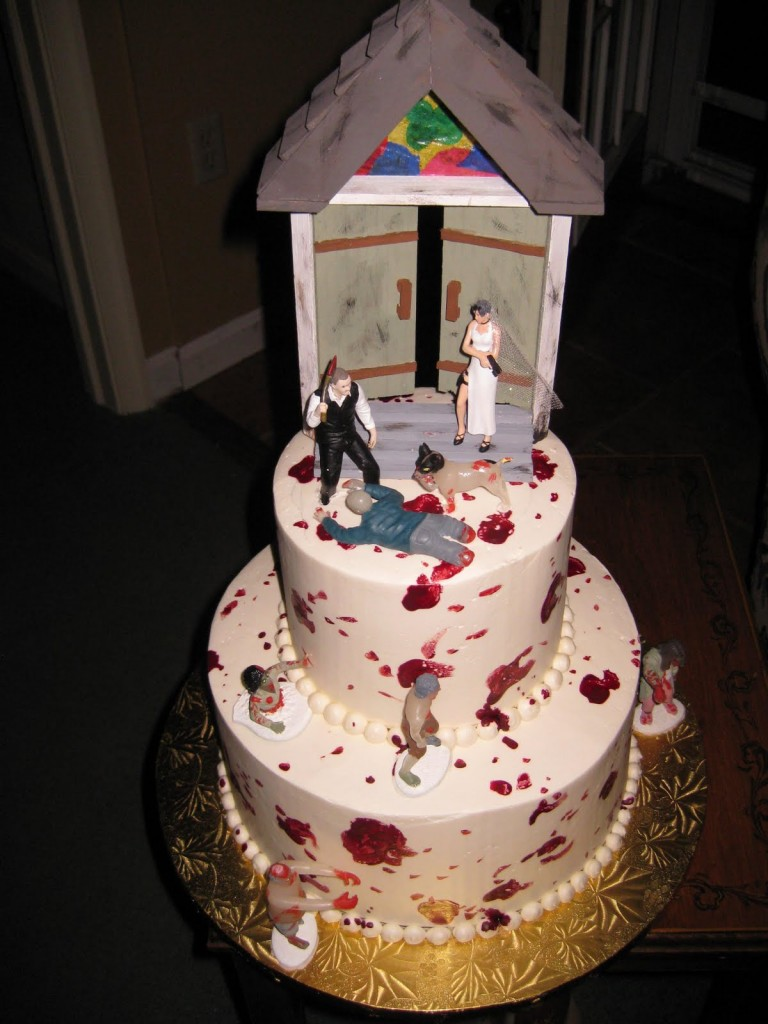 Zombie Wedding Cakes Pictures