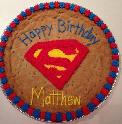 cookie cake ideas birthdays