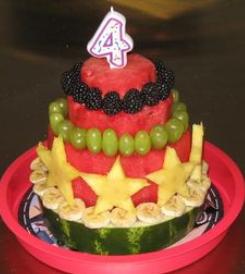 Birthday Cake Fruit Decoration : Fruit cakes   Decoration ideas Little Birthday Cakes