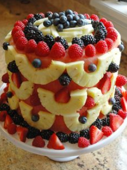 Fruit Cakes Decoration Ideas Little Birthday Cakes