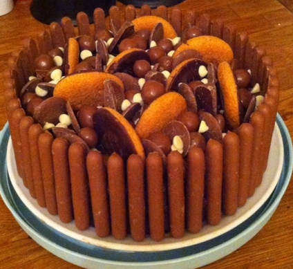 Jaffa Birthday Cake