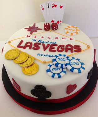 Las Vegas cakes – Decoration ideas | Little Birthday Cakes