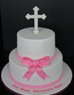 baptism cakes ideas