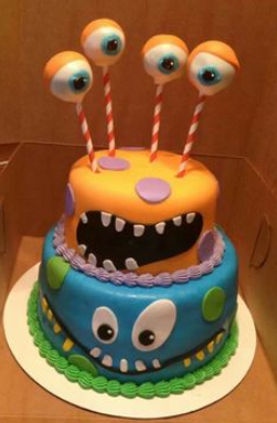 amazing alien picture cakes