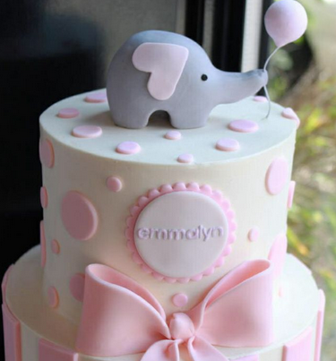 baby shower cakes for girls : baby shower cake decorating ideas - www.pureclipart.com