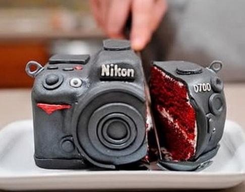 camera amazing cake idea