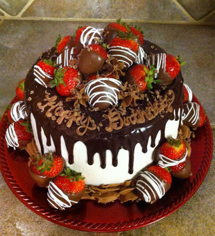 chocolate strawberry cakes