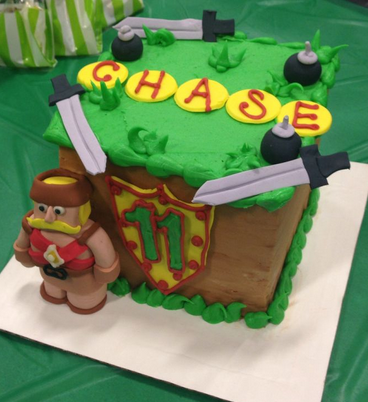 clash of clan cool cake