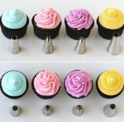 cupcakes colour ideas