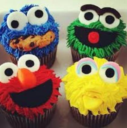 cupcakes sesame ideas