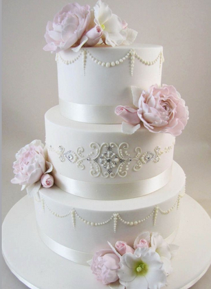 Elegant wedding cakes   Decoration ideas Little Birthday ...