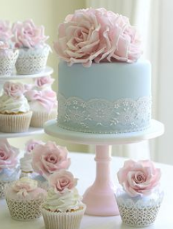 Elegant wedding cakes Decoration ideas Little Birthday Cakes