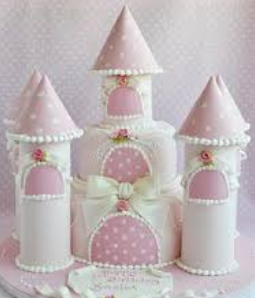 fancy cakes castle
