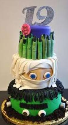 fancy cakes monster