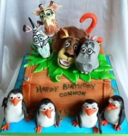 fancy madagascar cakes