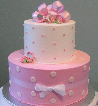 Baby shower cakes for girls   Decoration ideas Little ...